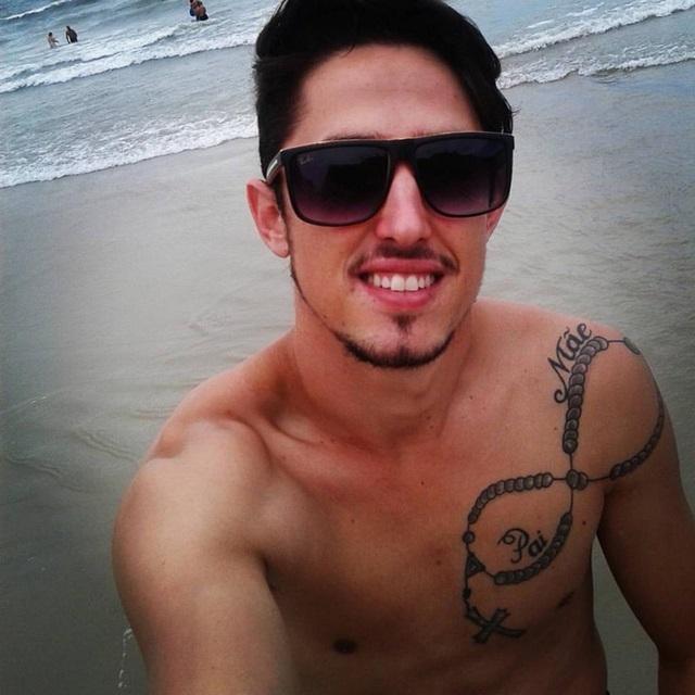 Jandrey Markus, 24 anos, morava em Itapiranga (SC). Foto: Reprodução Facebook