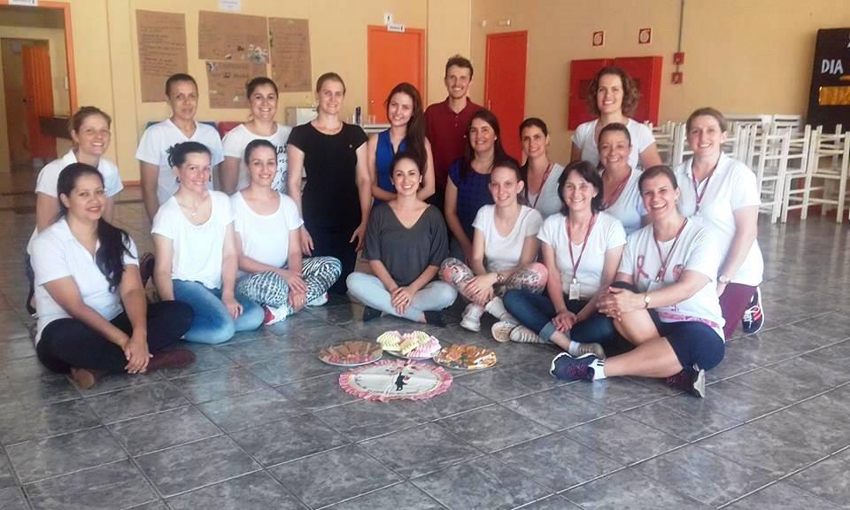 Professores da Educação Infantil e do Ensino Fundamental I do BJ de Chopinzinho. Foto: Colégio Bom Jesus de Chopinzinho.