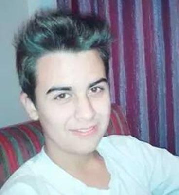 Gabriel de Souza, 18 anos, estava internado desde sábado. Foto: Arquivo familiar