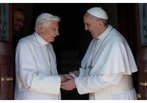 Bento XVI e Francisco