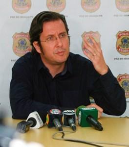 Delegado-chefe da Polícia Federal de Foz do Iguaçu