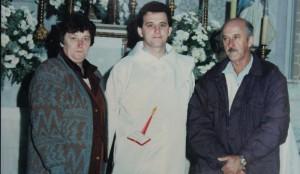 Dom Edgar e seus pais, Francisco e Valéria Ertl