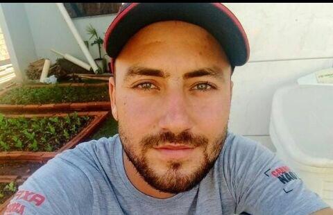 Diego do Prado, 23 anos, morreu na hora. Foto: Arquivo familiar