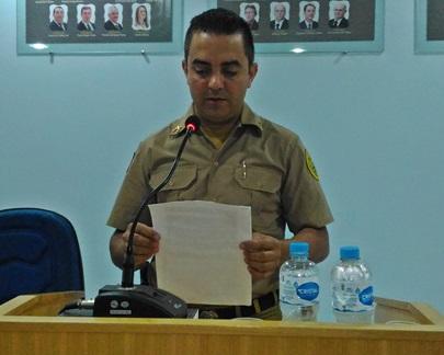 Cabo Ademir (Comandante do Destacamento de Renascença). Foto: Evandro Artuzi/RBJ