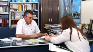 Reunião com o Padre Macagnan / Foto: Assessoria