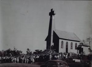 Primeira igreja construída na cidade / Foto: Arquivo Matriz