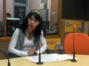 Professora Roselaine Navarro / Foto: Francione Pruch