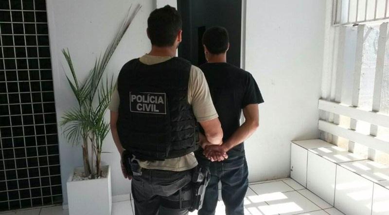 Edinei foi preso pela Polícia Civil no dia 18 de março. Foto: Arquivo RBJ