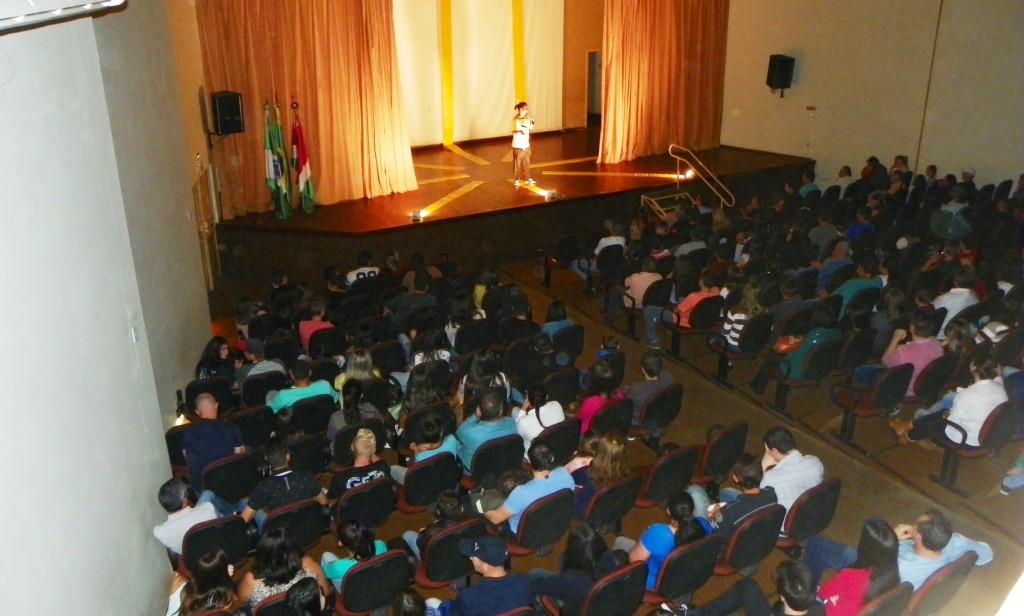 O evento realizado pela Secretaria Municipal de Educação, Cultura e Esporte, teve entrada gratuita. Foto: Amanda Szinwelsky.