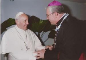 Papa Francisco e Dom Geremias / Foto: Arquivo pessoal