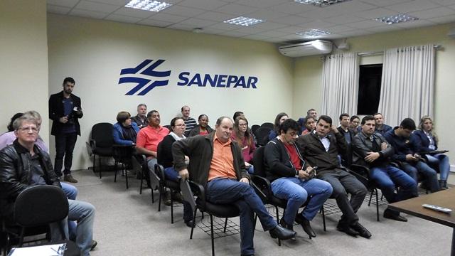 Sanepar e parceiros discutem em fórum ações de recuperação no Rio Ligeiro. foto de divulgação