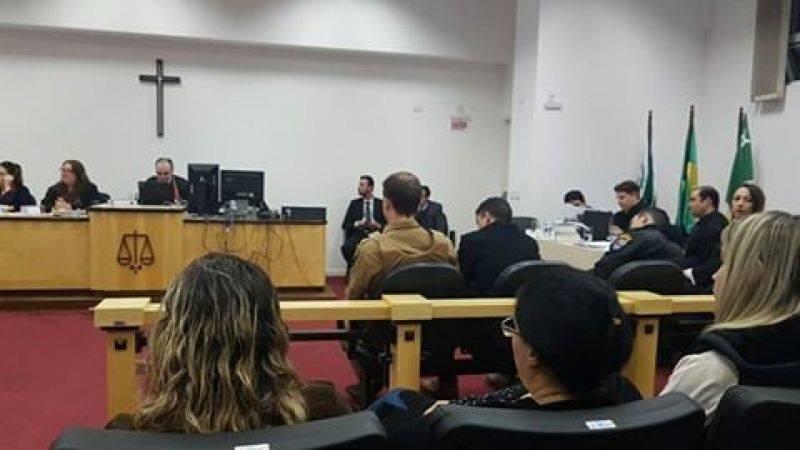 Júri foi presidido pelo juiz Rodrigo Faoro e teve duração de quase 12 horas. Foto: Beto Rossatti