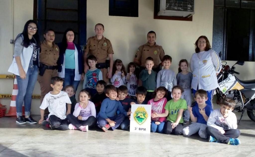 5º encontro do projeto Café da Manhã com a PM. Foto: Polícia Militar.