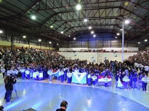 Mais de 1300 atletas estão participando da competição. Foto: Edson Zuconelli.