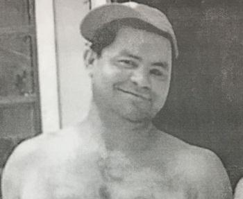 Jair dos Santos, 45 anos, desaparecido desde 28 de maio. Foto de divulgação