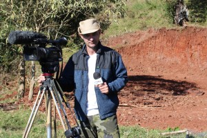 _Passos Maia é um encanto um paraíso a cada curva_ diz repórter ao gravar para a Record News2