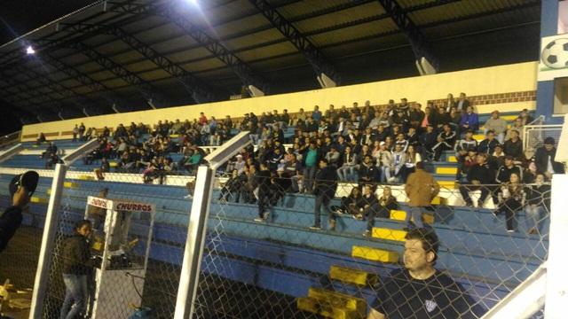 Público pagante foi de 1.301 torcedores. Foto: Evandro Artuzi/RBJ