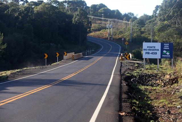 Além de beneficiar moradores da região, a rodovia vai fomentar o turísmo regional. Foto: Orlando Kissner / ANPr