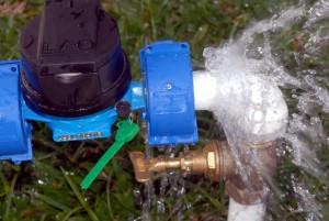 frio pode romper ligação de água