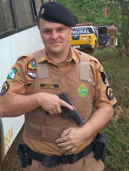 Valentim Wotroba Neto, 37 anos, trabalhava e residia em Bom Sucesso do Sul. Foto: Reprodução Facebook