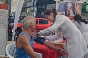 Evento realizado no Calçadão / Foto: Assessoria