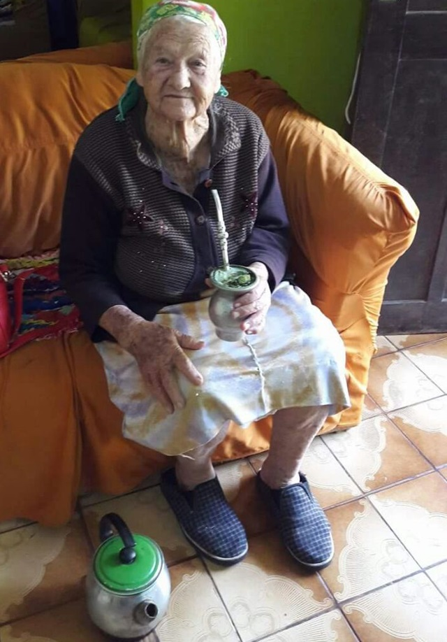 Maria Mazepa morreu na hora. Foto: Arquivo familiar