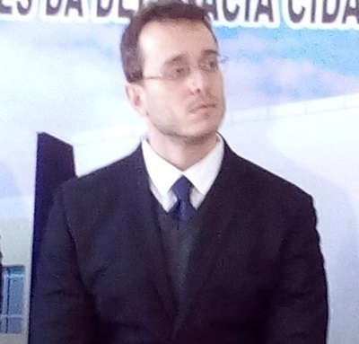 Lucas Mariano Mendes, delegado de Realeza, está investigando o crime. Foto: Arquivo RBJ