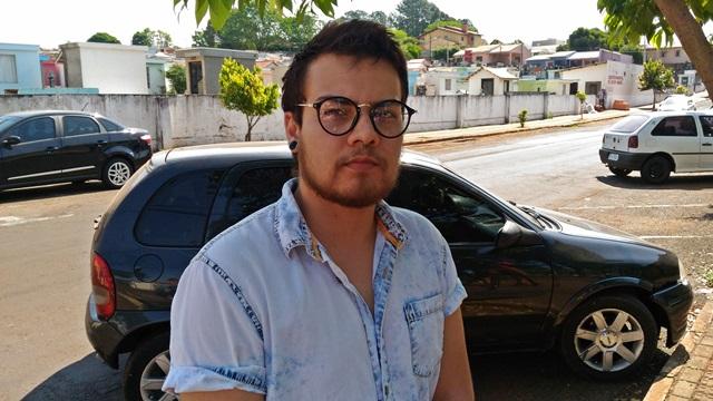 Ruan Kenndrew Guimarães da Silva, 22 anos, espera que os responsáveis sejam punidos. Foto: Evandro Artuzi/RBJ