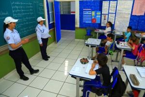 Palestras nas escolas fazem parte da programação / Foto: Assessoria