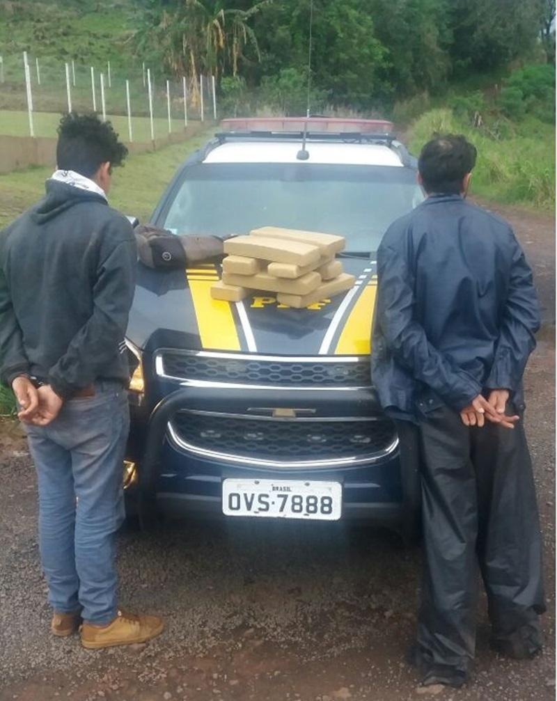 Envolvidos foram encaminhados à Polícia Civil. Foto de divulgação