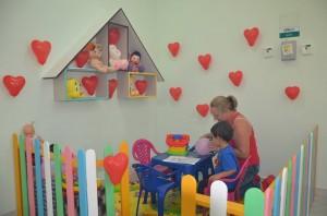 Espaço da brinquedoteca / Foto: UPA FB