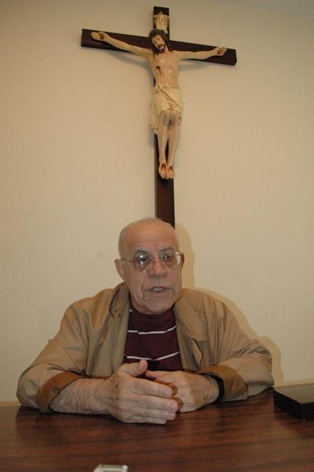 Frei Nelson Rabelo, 77 anos, se tratava de um câncer e morre as 18 horas desta terça (18). Foto: Marcelei Rossi/Diário do Sudoeste