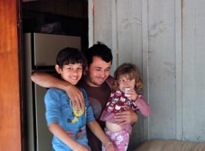 Família unida / Foto: Francione Pruch