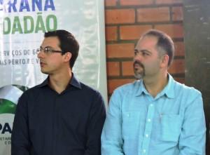 Prefeito Álvaro Scolaro e Secretario Artagão Júnior. Foto: Edson Zuconelli.