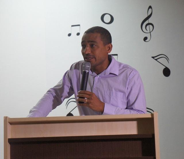 Jaimir Gomes, prefeito municipal de Marmeleiro. Foto de divulgação