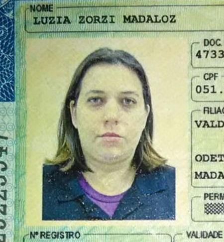 Luzia era passageira da Saveiro e morreu na hora.