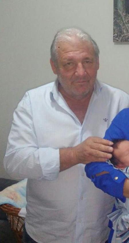 Nelio Barbacovi desapareceu na tarde de segunda-feira (16). Foto: Arquivo familiar