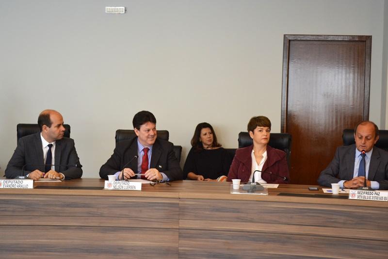 Deputado integra a comissão de saúde da Assembleia Legislativa. Foto de divulgação