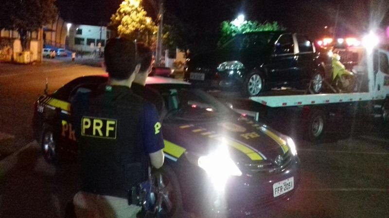Adolescente, autor do furto, foi encaminhado à Polícia Civil. Foto de divulgação