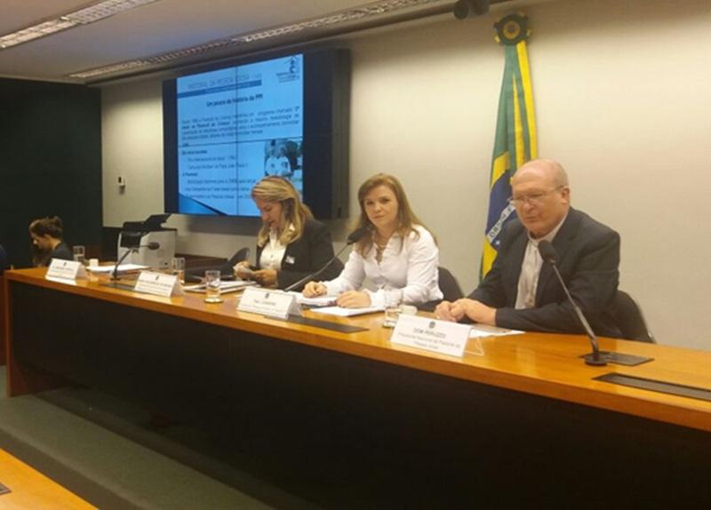 Objetivo foi debater linhas de cuidados para a pessoa idosa; Dom Peruzzo é presidente Nacional da Pastoral da Pessoa Idosa. Foto de divulgação