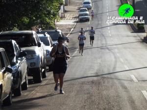 Os corredores fizeram o mesmo trajeto definido para o evento do próximo dia 17. Foto: Fit Trainer.