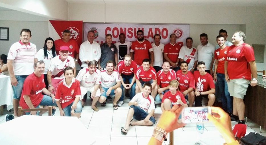 Estiveram presentes no evento ex-jogadores do Club. Foto: Edson Zuconelli.