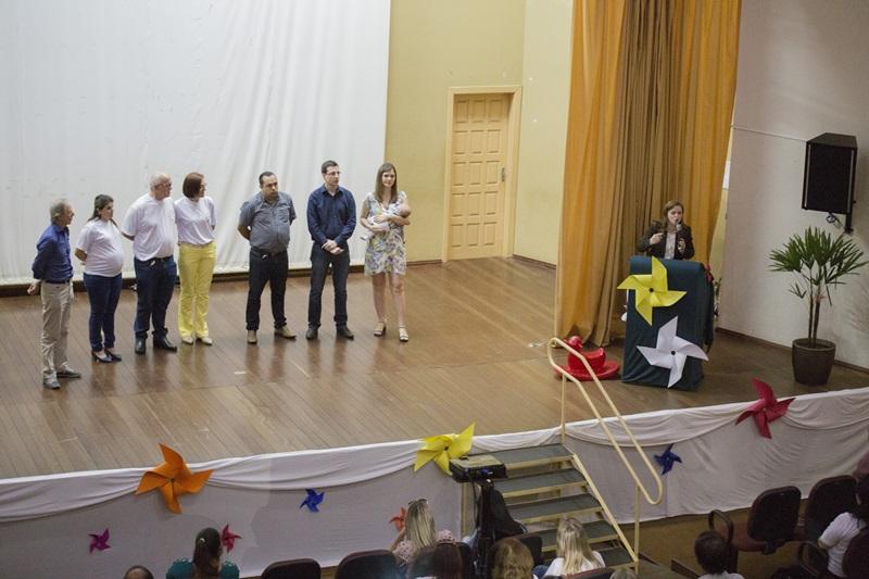 Evento em Chopinzinho reuniu lotou o Anfiteatro Municipal. Foto de divulgação