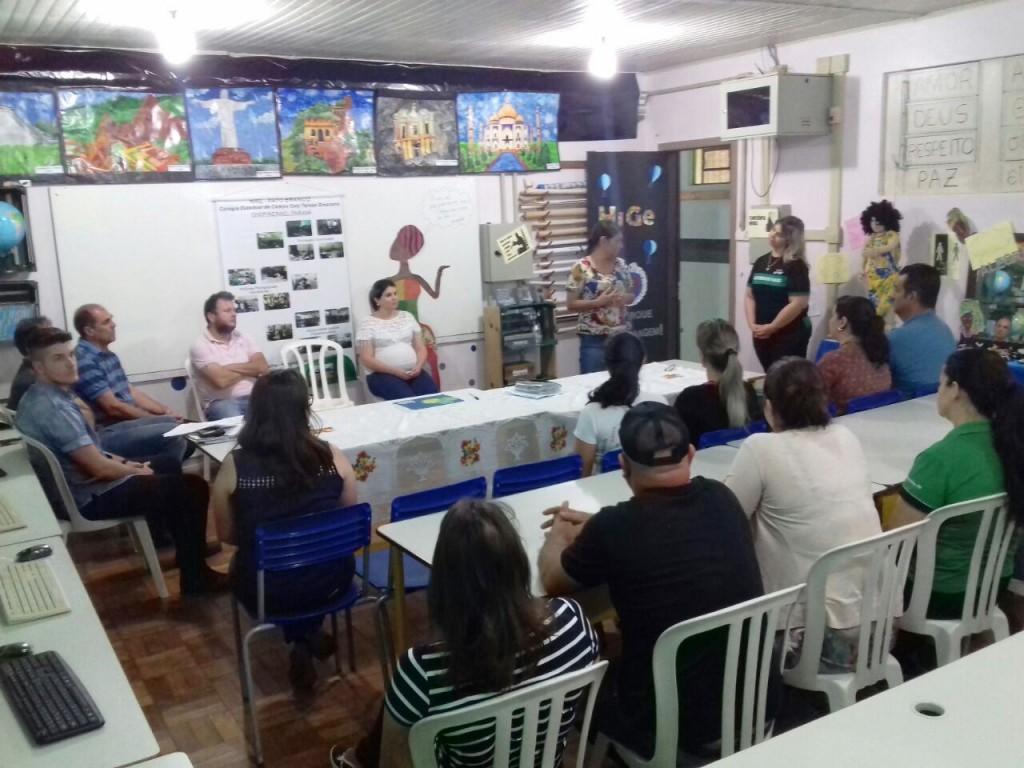 O Colégio Cely Tereza Grezzana de São Francisco foi um os primeiros a receber o recurso. Foto: Marcos Monteiro.