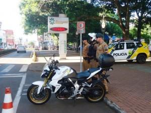 Policiais do 3º BPM de Pato Branco. Foto: Polícia Militar.