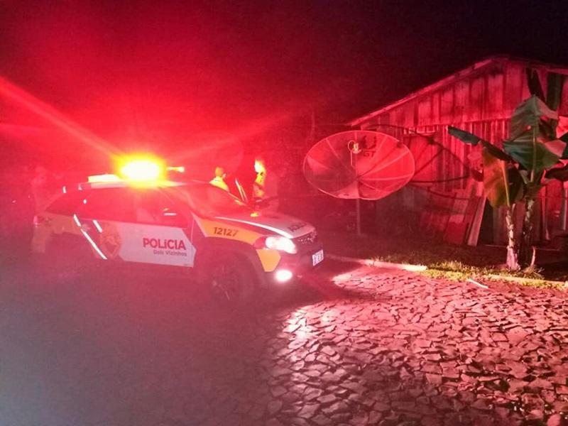 Crime aconteceu na casa da vítima, após um desentendimento entre ambos. Foto: Polícia Militar